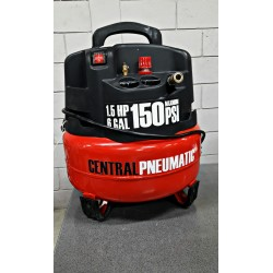 Compresor 6 Gal. 1.5 HP Central Pneumatic